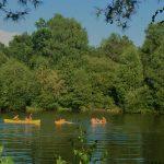 Spelen op het meer - Domaine du Bonheur